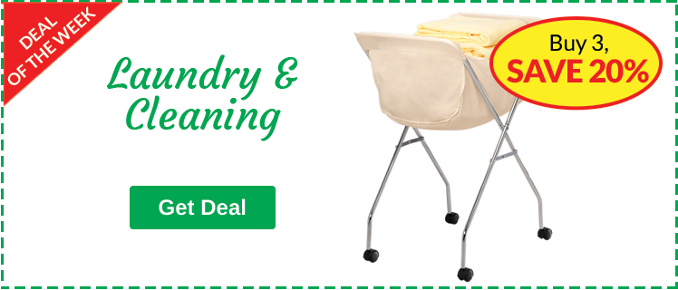 Laundry & Cleaning - Buy 3, Save 20%