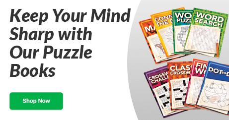Puzzle Books - Shop Now
