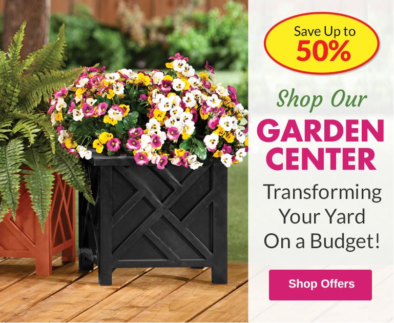 Garden Center - SAVE Up to X%