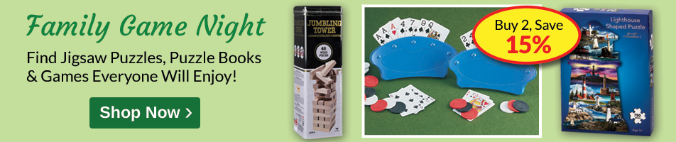 Buy 2, SAVE 15% Family Game Night