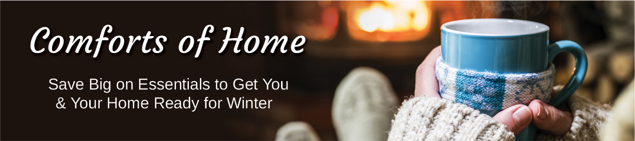 Comforts of Home Header