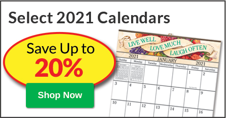 Save Up to 20% Calendars