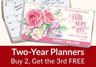 Planners - Buy 2, Get the 3rd Free