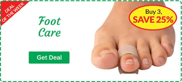 Footcare - Buy 3, SAVE 25%