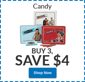 Buy 3, SAVE $4 Candy