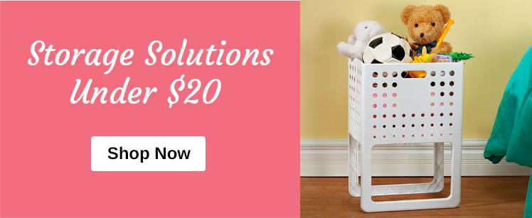Storage Solutions Under $20