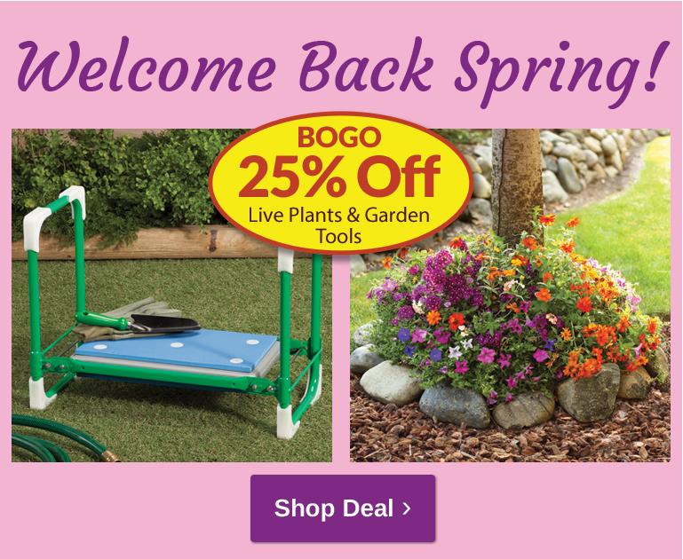 Gardening - BOGO 25% OFF