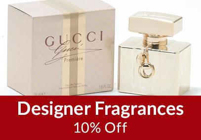 20% Off Designer Fragrances