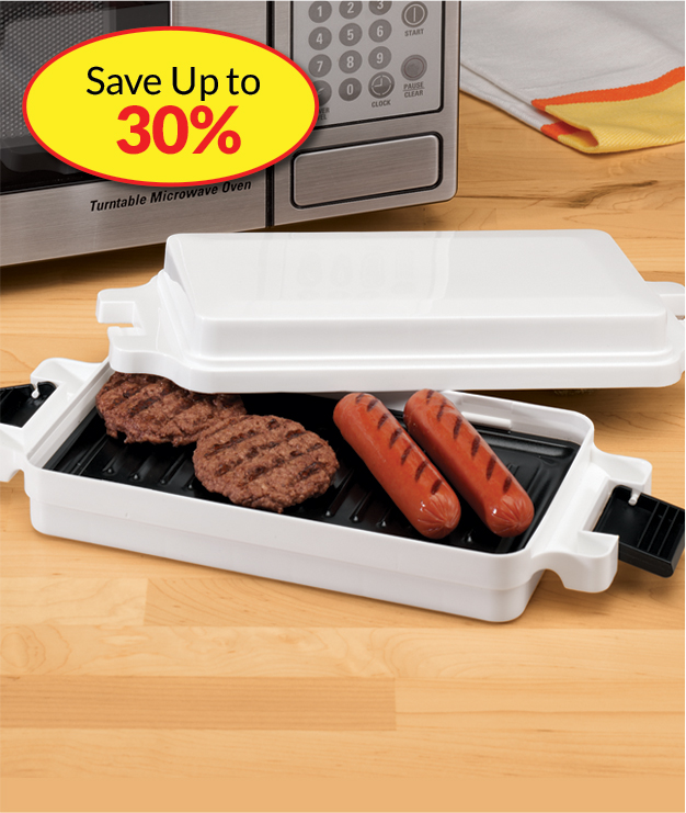 Save Up to 30% Microwave Cooking