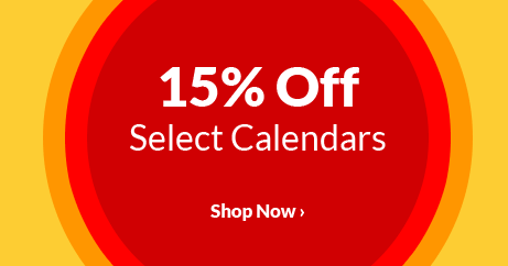 15% Off Select Calendars