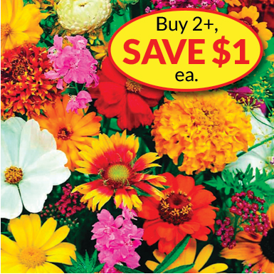 Buy 2 Flower Mats, Save $1