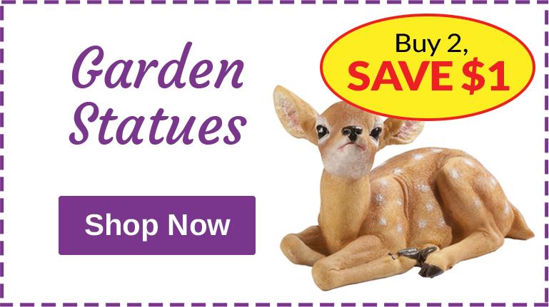 Garden Statues - Buy 2, Save $1 Ea