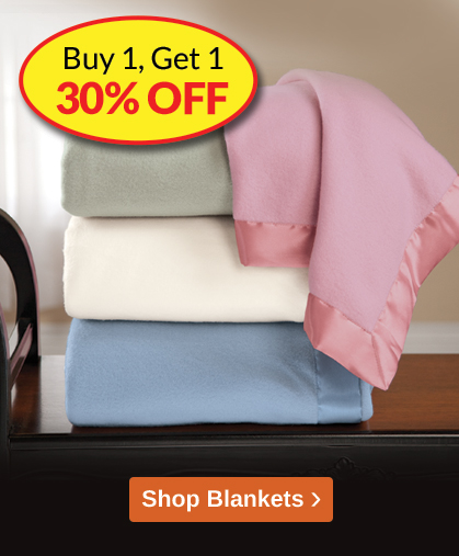 Comforts of Home - Blankets Promotion