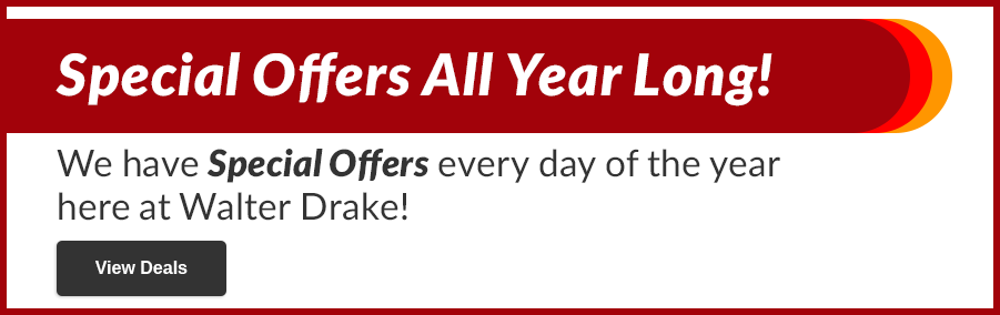 Special Offers All Year