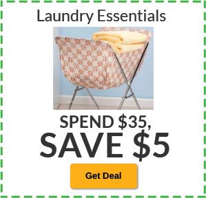 Spend $35, SAVE $5 Laundry Essentials
