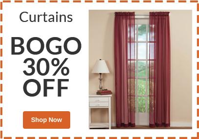 BOGO 30% OFF Curtains