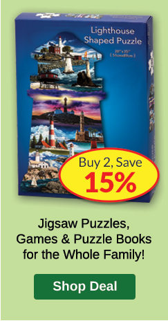 Buy 2, SAVE 15% Family Game Night PLP Ad