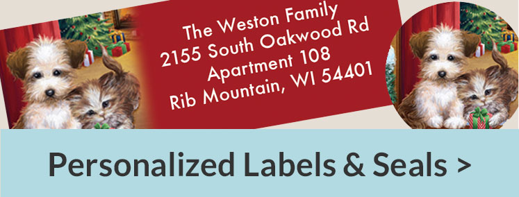 Christmas Labels & Seals