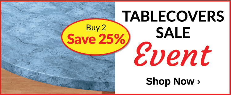 Buy 2, Save 25% Tablecover Event