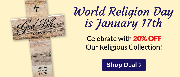 20% OFF World Religion Day