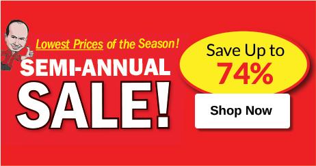 Leisure Semi Annual Sale