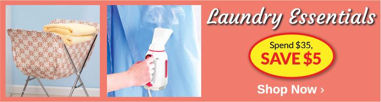 Laundry Essentials - Spend $35, Save $5