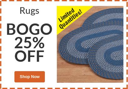 BOGO 25% OFF Rugs