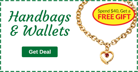 Handbags & Wallets - Spend $40, Get a Free Gift