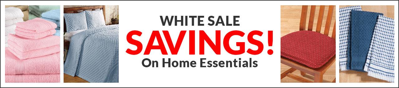 White Sale Page
