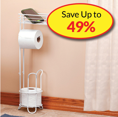 Bathroom Storage - SAVE Up to 49%