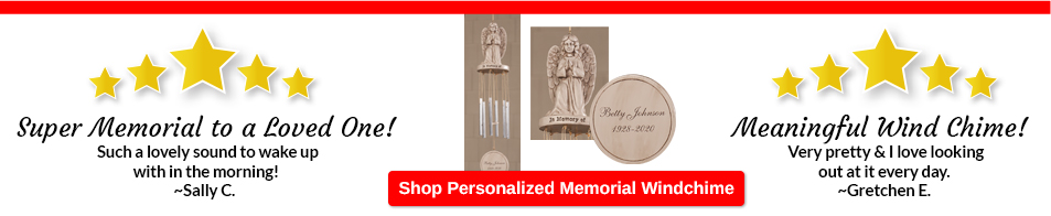 Customer Favorites - Memorial Windchime by Fox River™ Creations