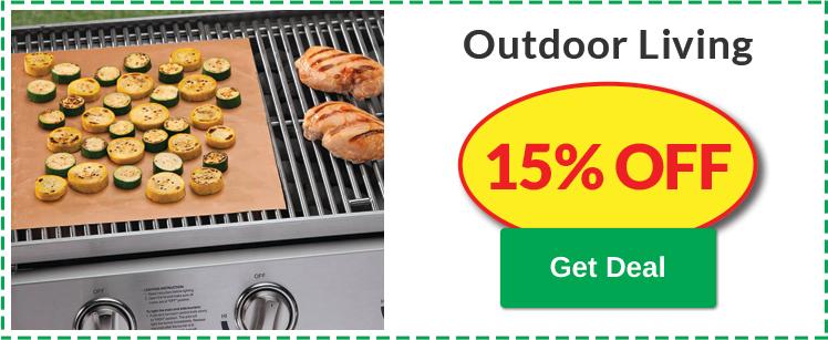 15% OFF Outdoor Living