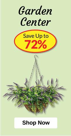 Garden Center - SAVE Up to 72%
