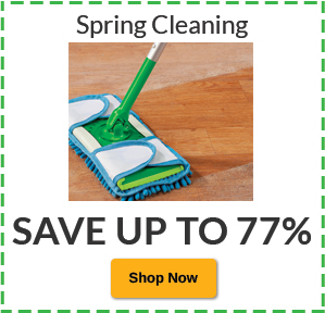 Save Up to 77% Spring Cleaning