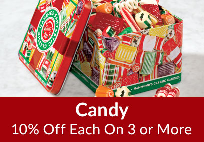 Candy 10% Off on 3 or More