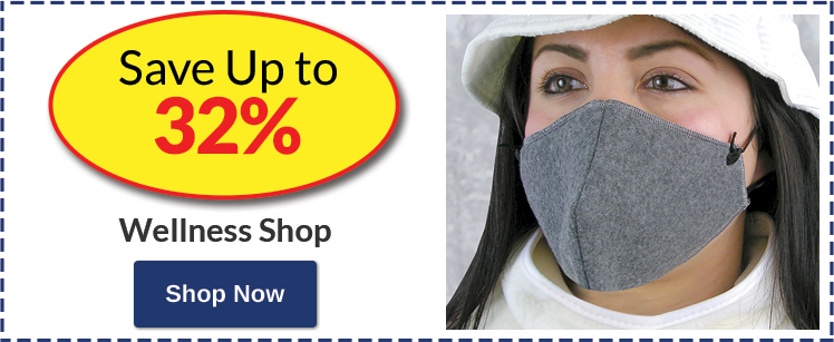 Save Up to 32% Wellness Shop