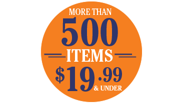 More than 500 Items