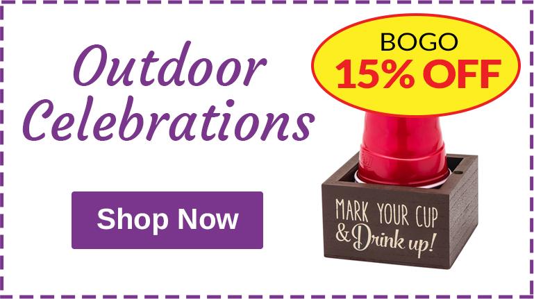 Outdoor Celebrations - BOGO 15% OFF