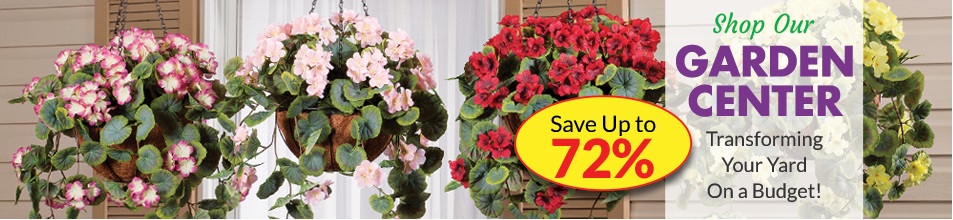 Save Up to 72% on Garden Center