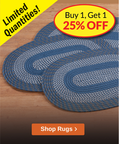 Comforts of Home Rugs Promotion