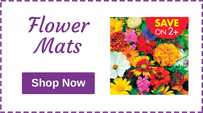 Buy 2, SAVE $1 Flower Mats