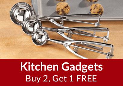 Kitchen Gadgets - Buy 2 Get 1 Free