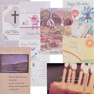 Christian Birthday Cards - Best Seller