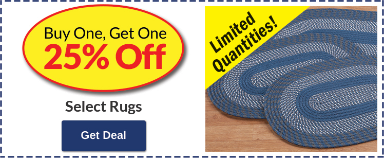 BOGO 25% Off Rugs