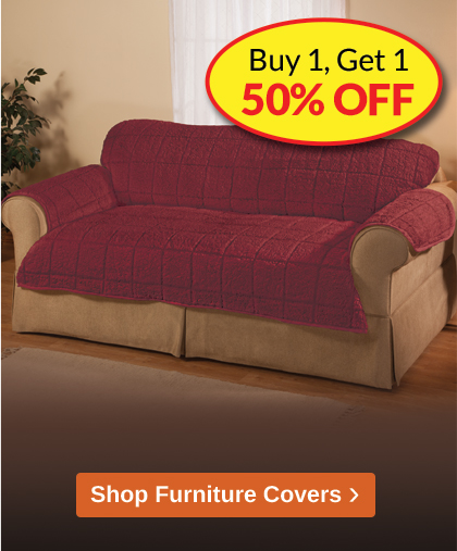 Comforts of Home Furniture Covers Promotion