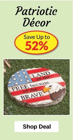 Patriotic Décor - SAVE Up to 52%