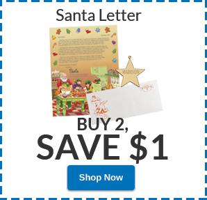 Free Shipping Santa Letter