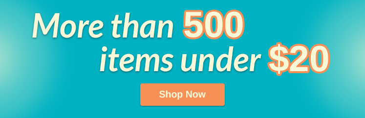More Than 500 Items Under $20