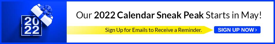 Email Reminder - 2022 Calendars