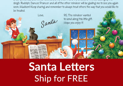 Santa Letters Ship Free